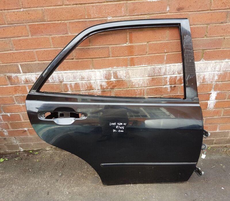 GENUINE LEXUS IS200 XE10 98-05 REAR DRIVER SIDE DOOR BLACK PAINT-200 R O/S 98-04