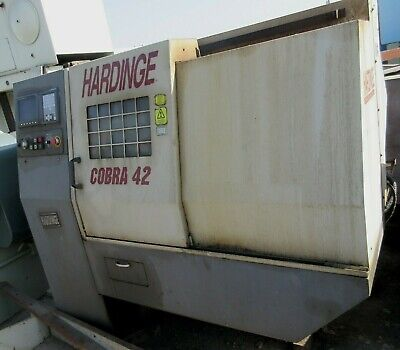 Hardinge Cobra42 Cnc Chucker W Conveyorbest Dealfcfslimited Availability
