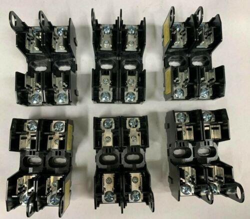 QTY/6 Cooper HM25030-2SR Fuse Holder