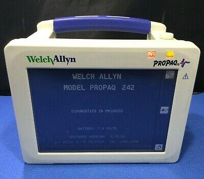 Welch Allyn Propaq Cs - Model 242 Patient Monitor - Masimo Kp