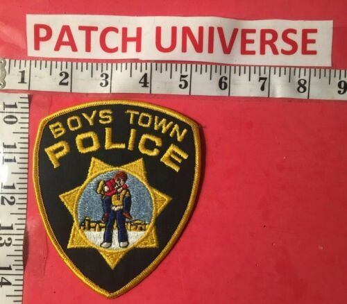 BOYS TOWN  NEB POLICE  SHOULDER PATCH   G096
