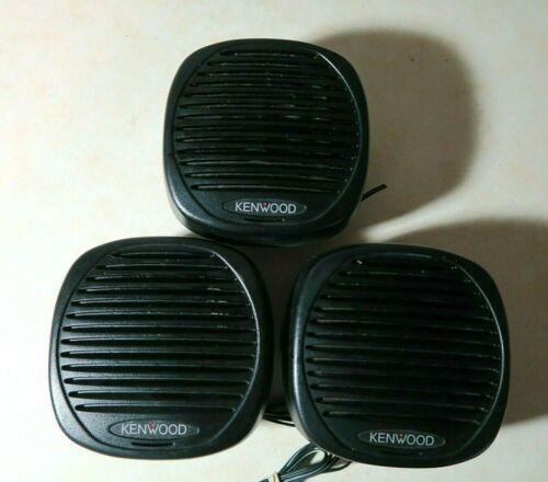 Lot of 3 Kenwood KES-5 External Speaker Genuine OEM