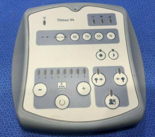 Control Panel for Titmus V4 Vision Screener         kp