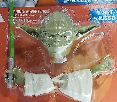 Yoda Pumpkin (New Green Halloween Star Wars Yoda Pumpkin Push-Ins)