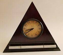 Now And Zen Progressive Gradual Awakening Alarm Clock Dark Mahogany USA *WORKS