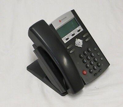 Lot Of 10 Polycom Soundpoint Ip 321 Poe Desktop Business Phone