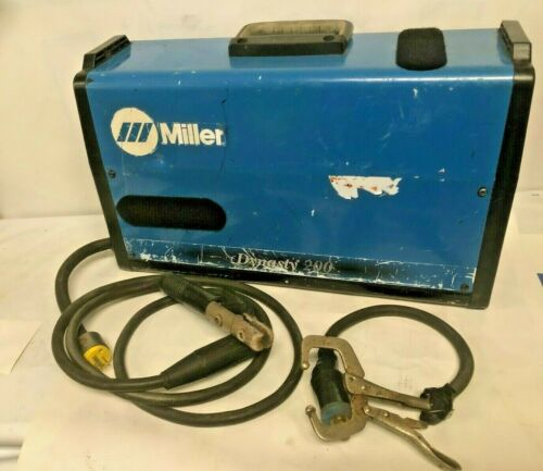 Miller Dynasty 200 DX AC/DC TIG Welding kit good condition