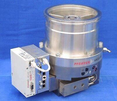 Pfeiffer Tph 521 Pc Turbomolecular Pump With Tc600 Controller Tic 250 Profibus