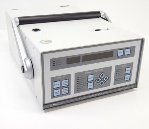 Met One A2400 LL-1-115V-1 CE Laser Particle Counter (PN: 2087126-01)