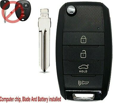 2007 - 2014 Cadillac Escalade Upgraded Flip Key Style With CIRCLE PLUS OUC60270