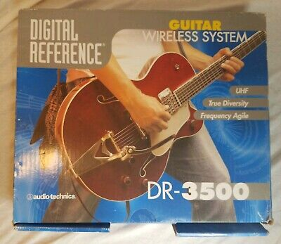 Digital Reference Audio-Technica DR-3500 Wireless Guitar System UHF True Diversi ()