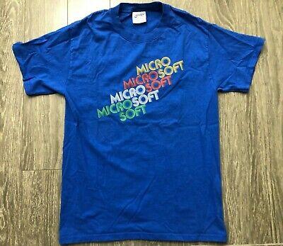 1970s Mens Shirt Styles – Vintage 70s Shirts for Guys Retro 1970's style Microsoft Logo T-shirt Small $29.99 AT vintagedancer.com