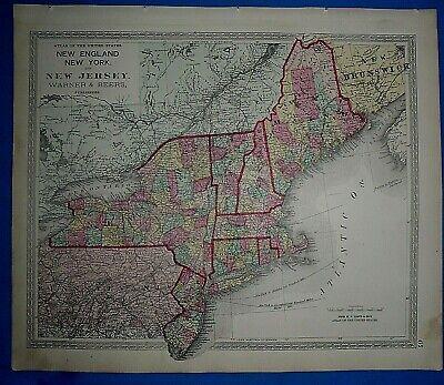 1906 SUMMIT UNION NEW JERSEY PS 20 PASSAIC RIVER SPRINGFIELD AV ATLAS MAP