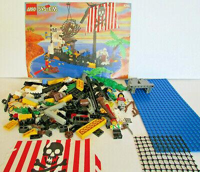 Lego 6296 Shipwreck Island, 100% COMPLETE, INSTRUCTIONS, Pirates, no box
