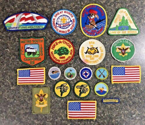 Lot of 20 Vintage BSA Boy Scout Patches