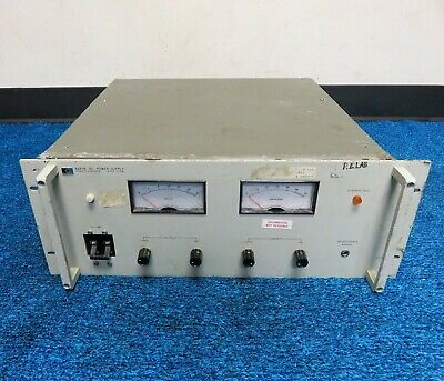Hewlett Packard Hp Agilent 6261b Variable Regulated Dc Power Supply 0-20v 0-50a