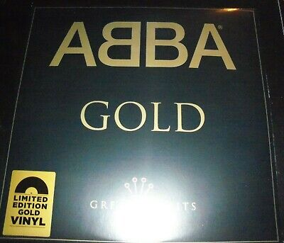 ABBA ‎– Gold (Greatest Hits) Limited Gold Coloured (Vinyl) 2 LP - NEW