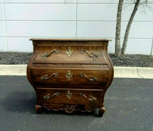 Vintage Baker French Louis XV Bombe Style Chest