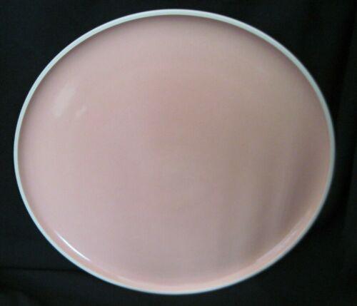 "Prisma Radius Coral Vignelli Design - 12"" Chop Plate / Round Platter RARE"
