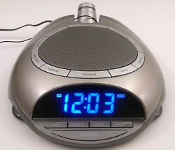 Homedics SoundSpa SS-4500 AM/FM Clock Radio 6 Nature Sound Sleep Therapy