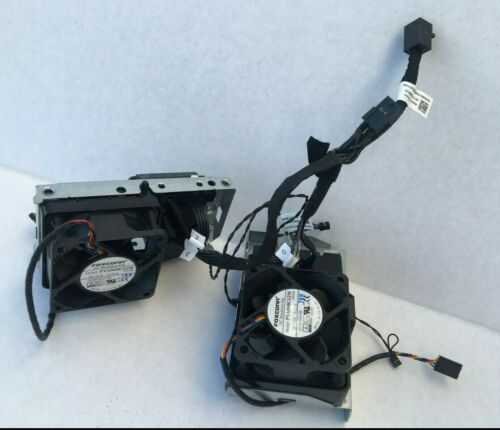Genuine Dell T7920 Backplane Bracket SAS Cable Fan Temperature Control Cable Kit
