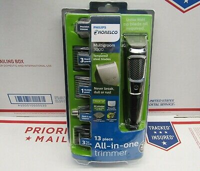 Philips Norelco All-In-One Multi Groom and Trimmer Series 3000 - 13 piece  NEW!