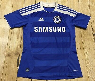 Chelsea Jersey Shirt Adidas Youth Medium Women 2011-12 Soccer Football 2011-12 image