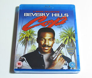 Beverly Hills Cop Blu-Ray Trilogy Boxset New Movies 1 2 3
