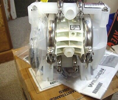 Nos - Wilden 12 Ipt Diaphragm Air Pump With Air Muffler Literature
