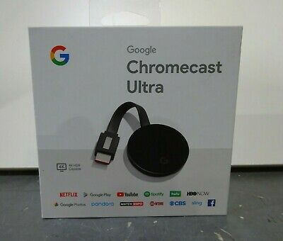 Google ChromeCast Ultra 4K HDR Capable