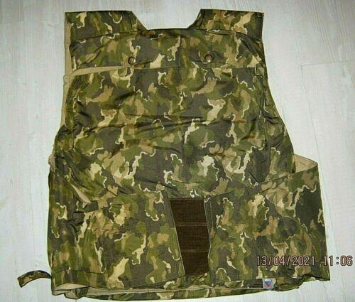 Russian Spetsnaz Body Armour Cover Modul 3 Green Walnut Camo NPO SM