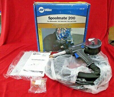 Miller Spoolmate 200 Spool Gun 300497 Open Box New 20 300 497 For Millermatic