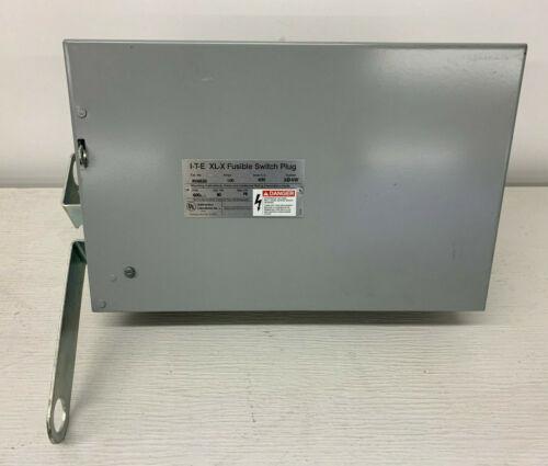 Rv463g Siemens Ite 100 Amp 600v 3p 4w Ground Fusible Xl-x Bus Plug Switch New
