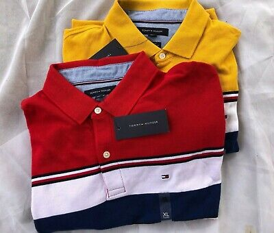NWT Tommy Hilfiger Men's Short Sleeve Classic Fit Prescott Polo Shirt Sz XL/2XL