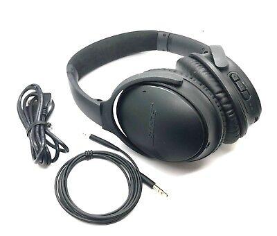 Bose Quietcomfort 35 Wireless Headphones  Noise Cancelling   Black