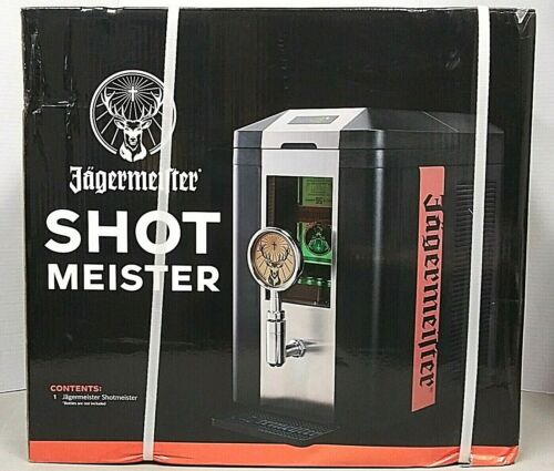New Jagermeister Shot meister 3 Bottle Tap Machine