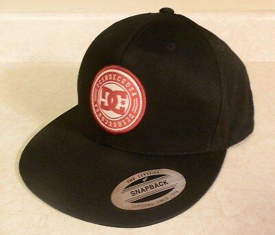 DC Brand Athletic Hat Skateboard Skate Board BMX Snapback Cap  Dc Shoes Athletic Cap