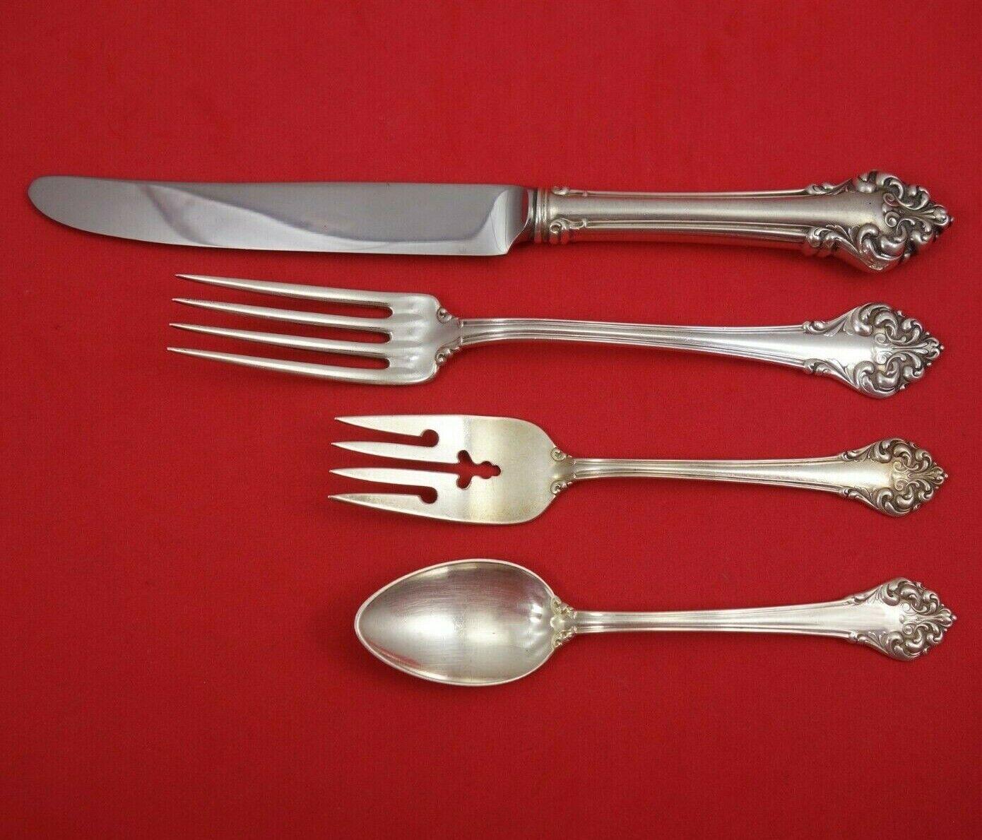 """Elegante aka L/'elegante Sterling Silver Place Soup Spoon 7/"""""""