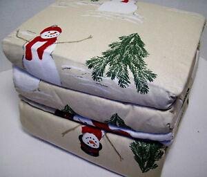 Christmas Flannel Sheets King