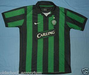 CELTIC FC / 2006-2007 Away - NIKE - JUNIOR Shirt / Jersey. Size: 158-170, 13/15y - Poland, Polska - CELTIC FC / 2006-2007 Away - NIKE - JUNIOR Shirt / Jersey. Size: 158-170, 13/15y - Poland, Polska