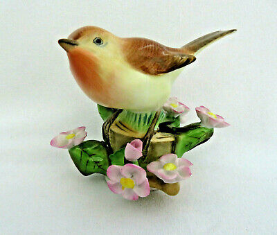 Vintage Herend Porcelain Hungary Rothschild Birds Figurine
