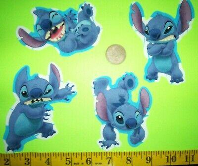 New! Disney's Lilo and Stitch Iron-ons Fabric Appliques Iron-on Disney Iron On Appliques