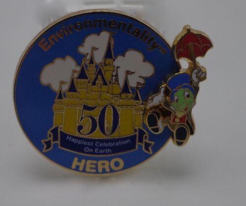 WDW Environmentality Hero Happiest Celebration On Earth Jiminy Cricket Pin