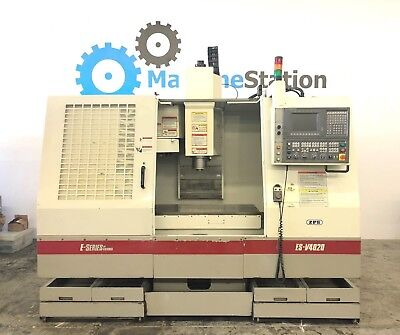 Okuma Esv-4020 Cnc Vertical Machining Center Mill 8000 Rpm Osp-u10m Mori