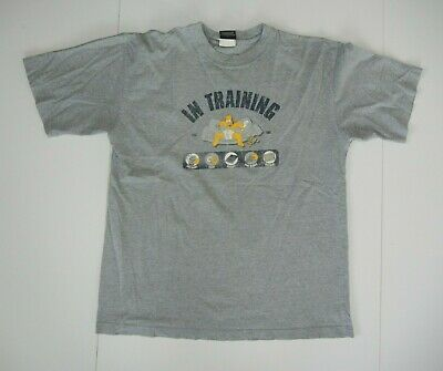 FOX STUDIOS TV AUSTRALIA Television HOMER SIMPSON T-SHIRT Gym Training Sz Men M, used for sale  Shipping to South Africa