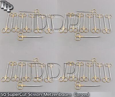 50 Supercut Scissors Metzenbaum 5.5 Curved Surgical Dental Veterinary Instrumen