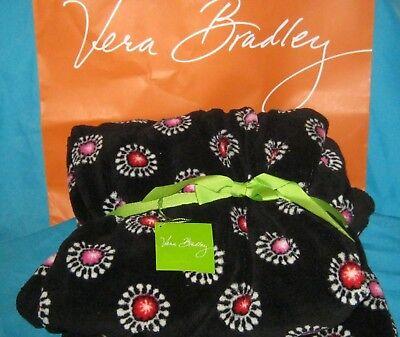 Nwt Retired Vera Bradley Throw Blanket 80
