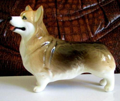 Corgi porcelain figurine Dog Souvenirs from Russia statuette high quality