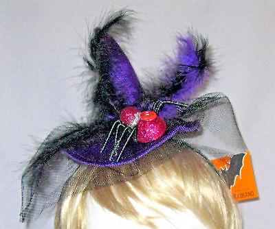 Pink Witch Hat (PURPLE & PINK SPIDER WITCH'S HAT)