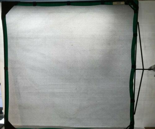 "Matthews RoadFlag Fabric, Single Black Net - 48x48"" (1.2x1.2m)"
